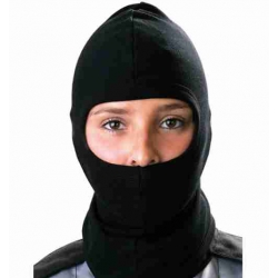 BALACLAVA BLACK COTTON