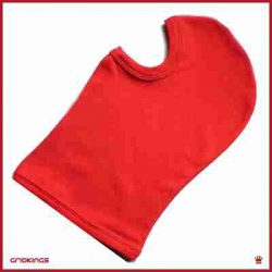 BALACLAVA RED COTTON