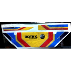 ROTAX DD2  ALONSO RADIATOR STICKER KIT 2014