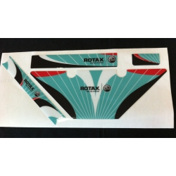 ROTAX MINI-JNR-SNR FK RADIATOR STICKERS
