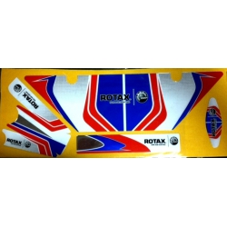 ZANARDI RAD STICKERS ROTAX MINI-JNR-SNR