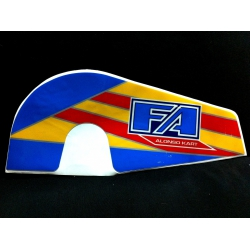 FA ALONSO CHAINGUARD STICKER