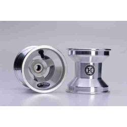 PAIR OF JET WHEELS ALUMINUM 120 MM