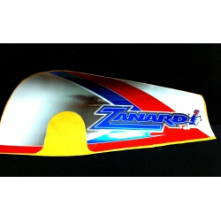 ZANARDI  CHAINGUARD STICKER