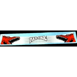 VISOR STICKER MAD CROC