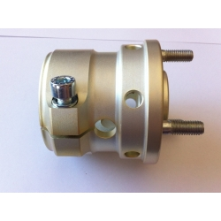 REAR HUB 50MM X 65MM MAGNESIUM EFFECT