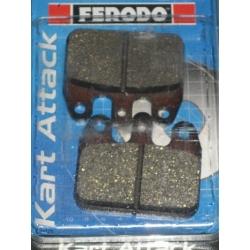 Set brake pads red V05