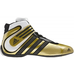 ADIDAS XLT KARTING BOOT GOLD-WHITE-BLACK