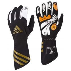 ADIDAS XLT KARTING GLOVES BLACK-GOLD