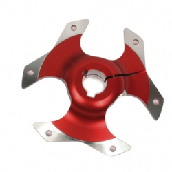 SPROCKET CARRIER D50 RED