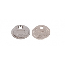 DISC MEASSURE PLUG GAP 0,5 - 2,55 mm