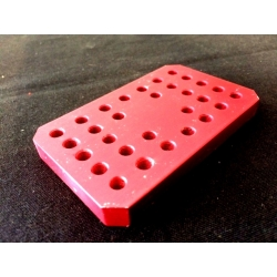 JET HOLDER ROTAX RED