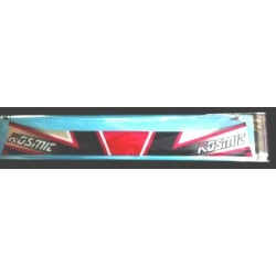 KOSMIC VISOR STICKER NEW 2015