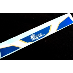 VISOR STICKER PRAGA 2016