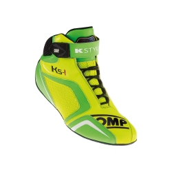 OMP KS1 BOOTS YELLOW/GREEN FLUO