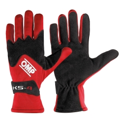 OMP GLOVES KS4 RED