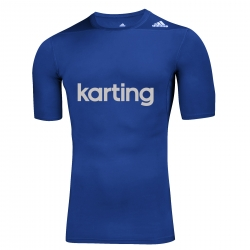 ADIDAS RACING TSHIRT UNDERWEAR KARTING BLUE