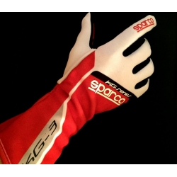 SPARCO GLOVE KG3 RED