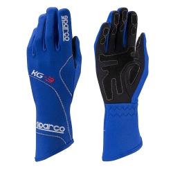 SPARCO GLOVE KG3 BLUE