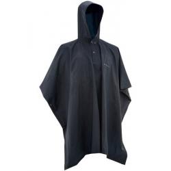 RAIN PONCHO BLACK