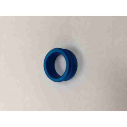 Arandela mangueta 25mm x 10 mm azul