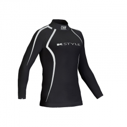OMP RACING UNDERWEAR BLACK LONG SLEEVE