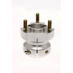 REAR HUB D40 X 65 MM ALUMINIUM