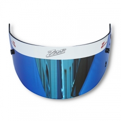 VISOR BLUE MIRROR ZAMP
