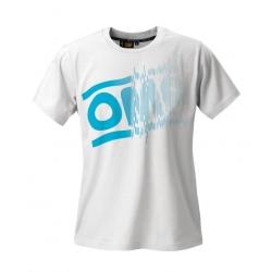 OMP T-SHIRT DESIGN BLANC