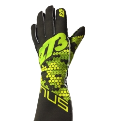 GUANTES  -273 BUZZ NEGRO-FLUO