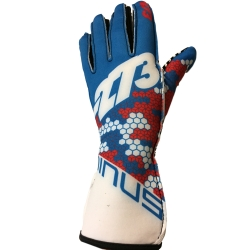 GLOVES -273 BUZZ WHITE-BLUE