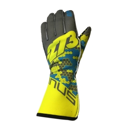GLOVES -273 BUZZ GREY-FLUO
