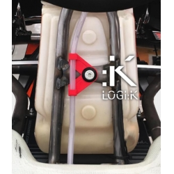 LOGIK FUEL PIPE DOUBLE CLIP