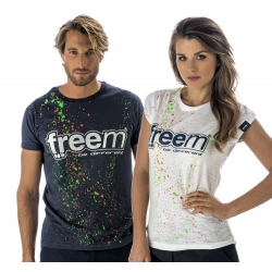 FREEM T-SHIRT BLUE WOMAN