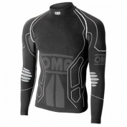 TECHNICAL OMP RACING UNDERWEAR BLACK LONG SLEEVE