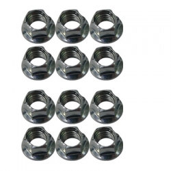 12 X  WHEEL NUTS M8