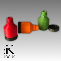 LOGIK THREADED BREATHER BOTTLE KZ M14