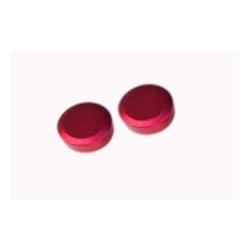 2 x  tapones excentricas rojo - BIRELART,RICCIARDO,RK,COMBIKART