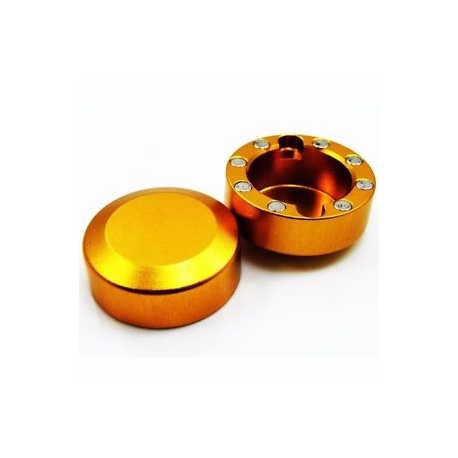 2 x  tapones excentricas dorado - BIRELART,RICCIARDO,RK,COMBIKART