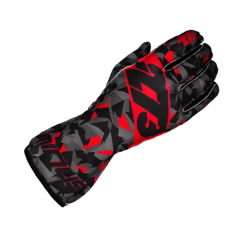 GLOVES -273 CAMO RED