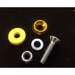 FLOORTRAY SCREW ASSEMBLY GOLD (1 UNIT)