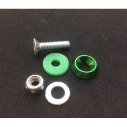 FLOORTRAY SCREW ASSEMBLY GREEN (1 UNIT)