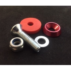 FLOORTRAY SCREW ASSEMBLY RED (1 UNIT)
