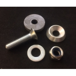 FLOORTRAY SCREW ASSEMBLY SILVER (1 UNIT)