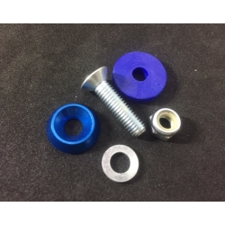 FLOORTRAY SCREW ASSEMBLY BLUE (1 UNIT)