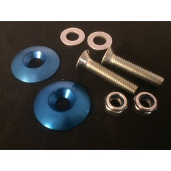 SEAT MOUNTING KIT WASHERS M8 BLUE