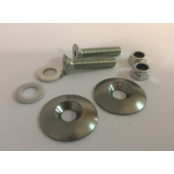 SEAT MOUNTING KIT WASHERS M8 TITANIUM
