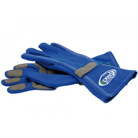 RACING GLOVES BLUE