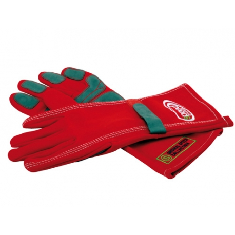 RACING GLOVES RED