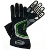 RACING GLOVES BLACK SIRIUS
